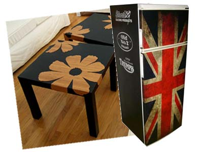 custom vinyl furniture